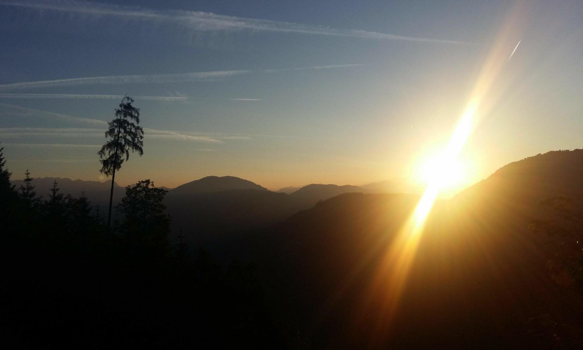 Praxis Sonnenaufgang